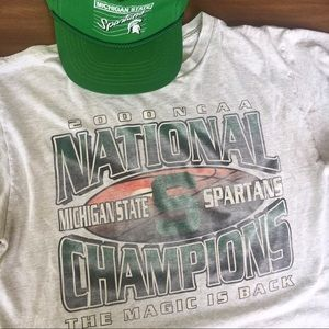 Other - 2000 MSU SPARTANS tee